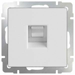 Розетка Ethernet RJ-45 без рамки Белый WL01-RJ-45