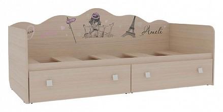 Детская односпальная кровать Амели MBS_MDA-07