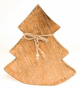 Ель новогодняя (23x2.5x23 см) Wooden Tree en_ny0033