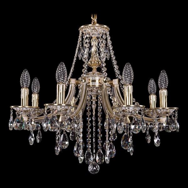 Подвесная люстра 1771/8/190/B/GW Bohemia Ivele Crystal  (BI_1771_8_190_B_GW), Чехия