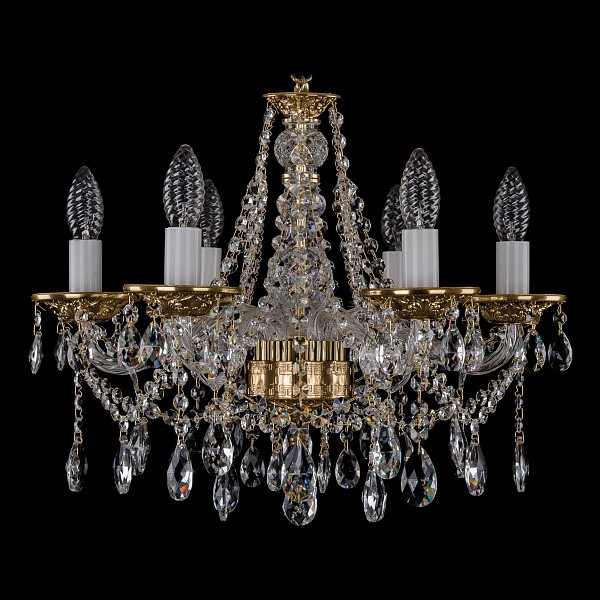 Подвесная люстра 1613/6/165/G Bohemia Ivele Crystal  (BI_1613_6_165_G), Чехия