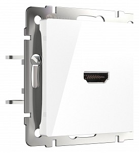 Розетка HDMI без рамки белый W1186001