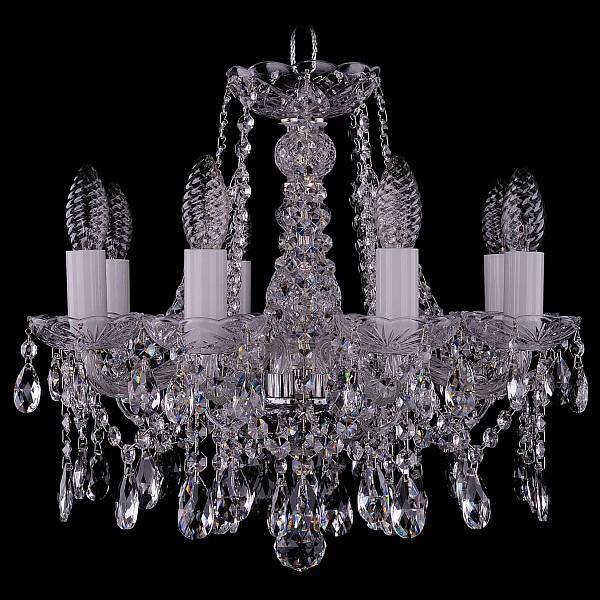 Подвесная люстра 1413/8/141/Ni Bohemia Ivele Crystal  (BI_1413_8_141_Ni), Чехия