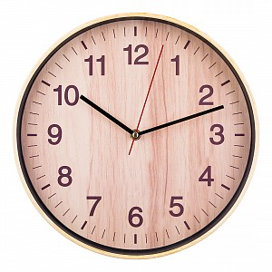 Настенные часы (30 см) Клен Танзау 220-279