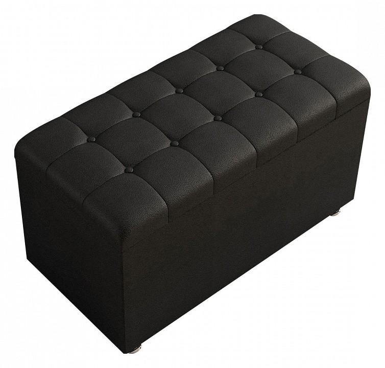 Банкетка-сундук Black 80-40-4