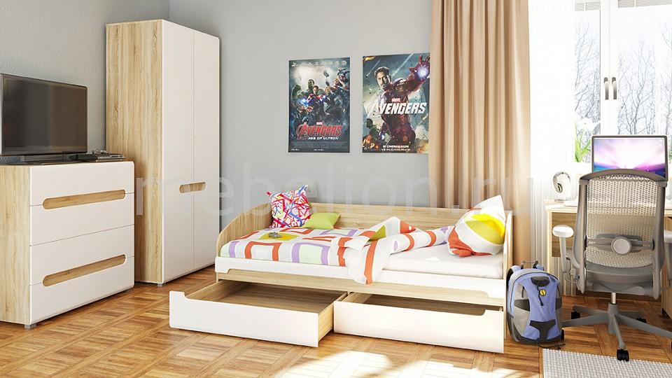 Комод детский Мебель-Неман NEM_Leonardo_childrensroom_system_2 от Mebelion.ru