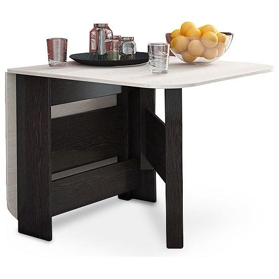 Кухонный стол ТРИЯ TRI_table_book_t1_wengecavo_woak от Mebelion.ru