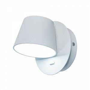 Спот поворотный Норман, 1 лампы  по 6 Вт., 1.49 м², цвет белый матовый