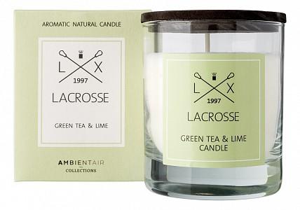 Свеча ароматическая (9.5 см) Зеленый чай & Лайм VV040TVLC