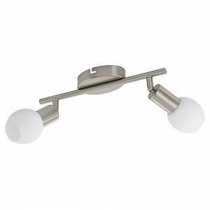Спот поворотный Vedra 1, 2 лампы  по 3.5 Вт., 2.7 м², цвет белый матовый