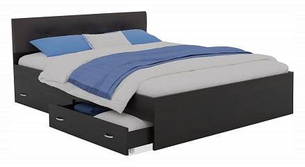 Кровать двуспальная Виктория ЭКО-П с матрасом PROMO 2000x1800