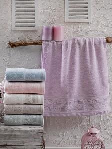 Набор из 6 банных полотенец (70x140 см) Louise