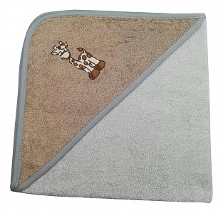 Полотенце детское (70x70 см) Жираф