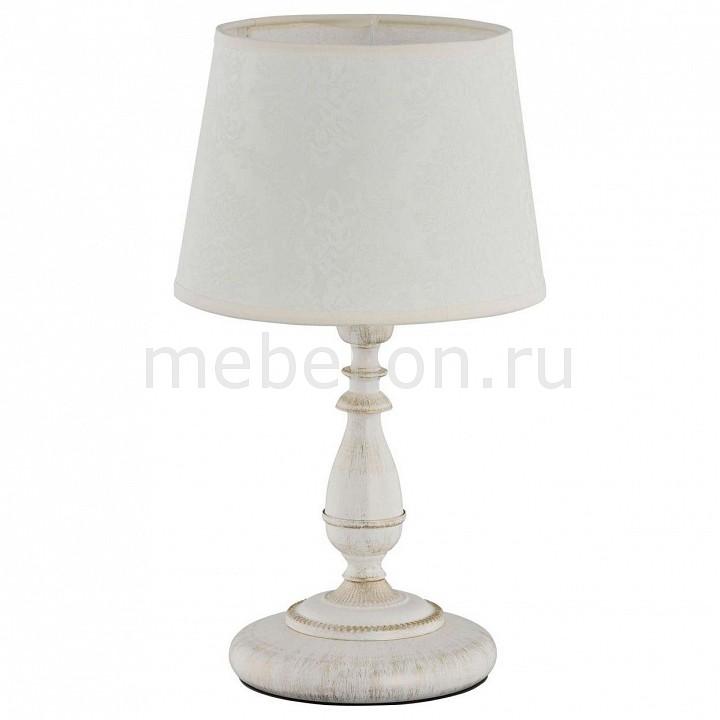 Настольная лампа декоративная Roksana White 18538