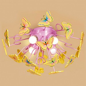 Потолочная люстра Бабочки CL603142