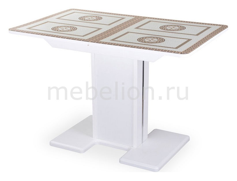 Купить Стол обеденный Танго ПР-1 БЛ ст-71 05-1 БЛ/БЛ, Домотека