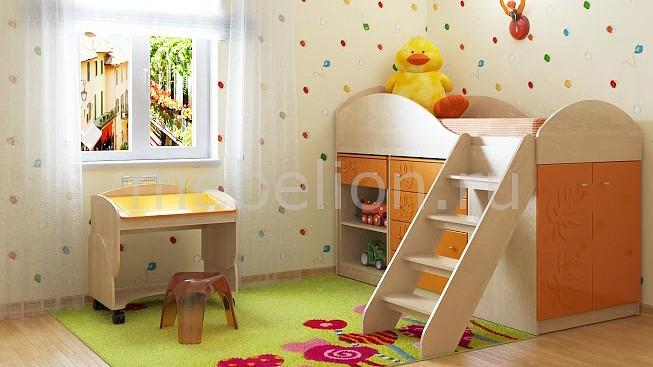 Комод детский Компасс-мебель KOM_Maugli_system_12 от Mebelion.ru