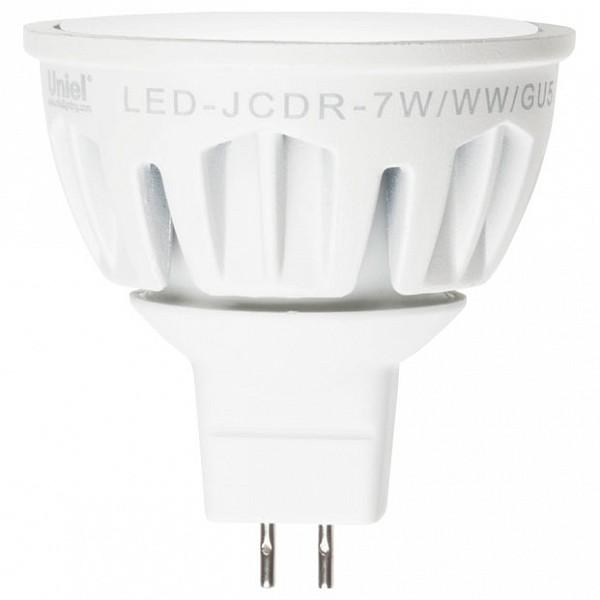 Лампа светодиодная Merli GU5.3 175-265В 7Вт 4500K LED-JCDR-7W/NW/GU5.3/FR ALM01WH UL_08146