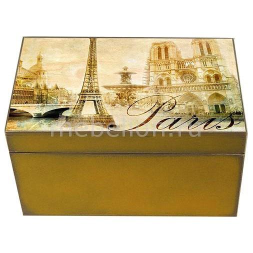 Шкатулка декоративная Акита (26х18х11.5 см) Paris 1725-11 шкатулка декоративная акита 26х18х11 5 см розы 1725 1