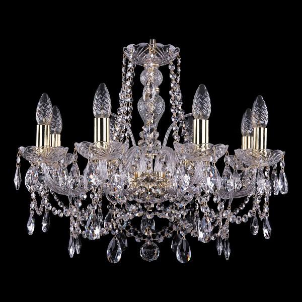 Подвесная люстра 1411/8/195/G Bohemia Ivele Crystal  (BI_1411_8_195_G), Чехия