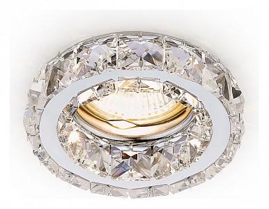 Светильник потолочный Crystal K112 AMBR_K112_CL_CH