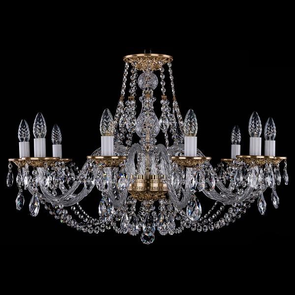 Подвесная люстра 1606/10/300/FP Bohemia Ivele Crystal  (BI_1606_10_300_FP), Чехия