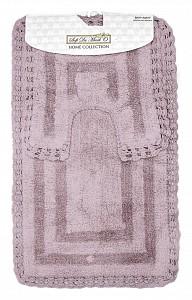Набор из 2 ковриков для ванной Cleo S.311мокко