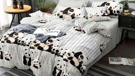 Комплект постельного белья Панды