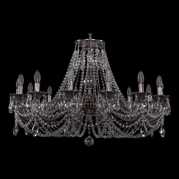 Подвесная люстра 1702/14/300/C/NB Bohemia Ivele Crystal 1702/14/335/C/NB  (BI_1702_14_335_C_NB), Чехия