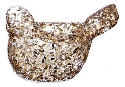 Подсвечник декоративный (11 см) Птичка 862-212