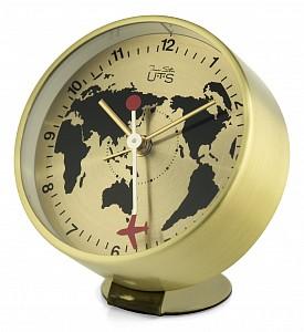 Настольные часы (9х11 см) Карта мира 4018G