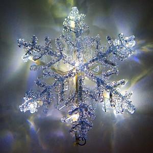 Снежинка световая (14x14 см) LT705 26982