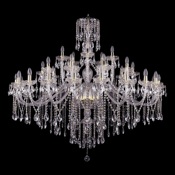 Подвесная люстра 1415/20+10+5/530-135/G Bohemia Ivele Crystal  (BI_1415_20_10_5_530_135_G), Чехия