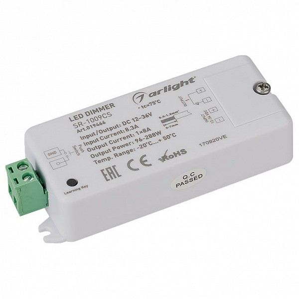Контроллер-диммер SR-1009CS (12-36V, 96-288W)