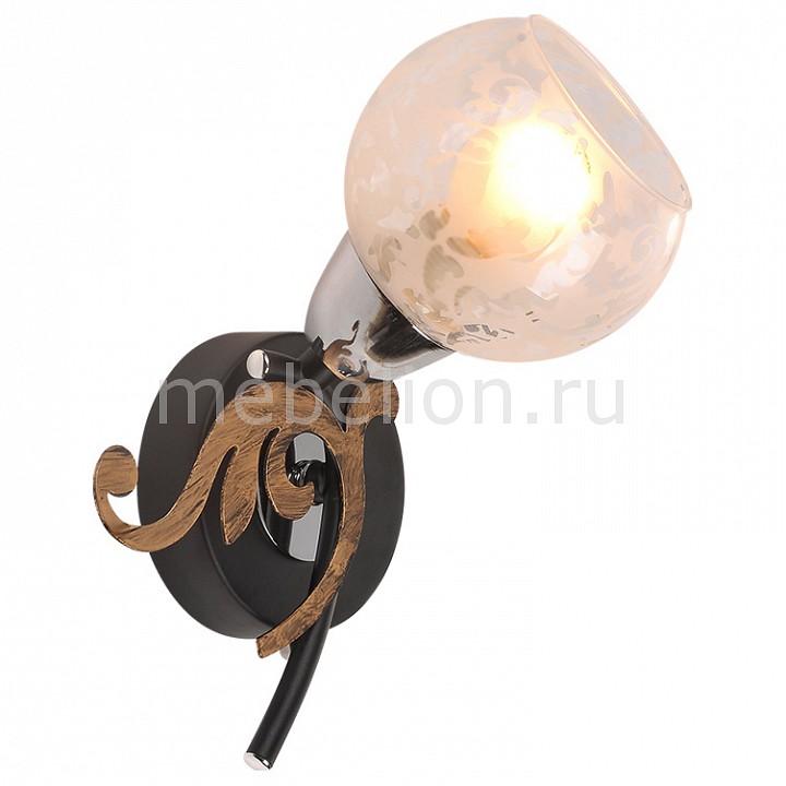 Бра IDLamp ID_216_1A-Blackchrome от Mebelion.ru