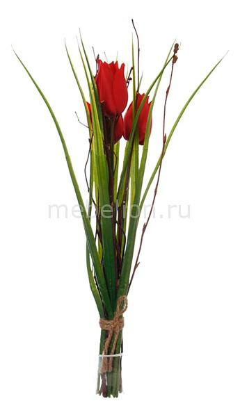 Букет Home-Religion (30 см) Из 3-х тюльпанов 58020700 пасочница home queen цвет красный 16 5 х 16 5 х 18 см