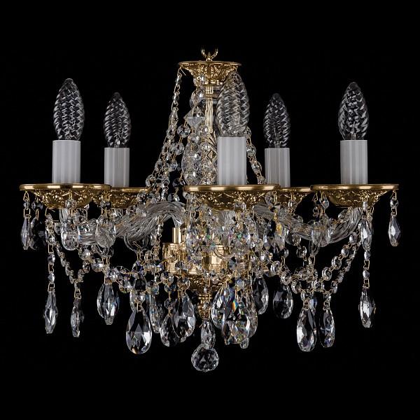 Подвесная люстра 1613/5/141/G Bohemia Ivele Crystal  (BI_1613_5_141_G), Чехия