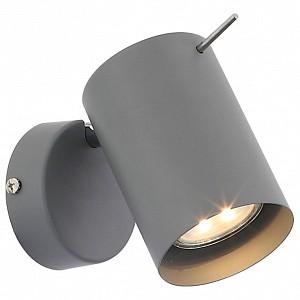 Спот поворотный Minare, 1 лампы GU10 по 3 Вт., 0.14 м², цвет серый матовый