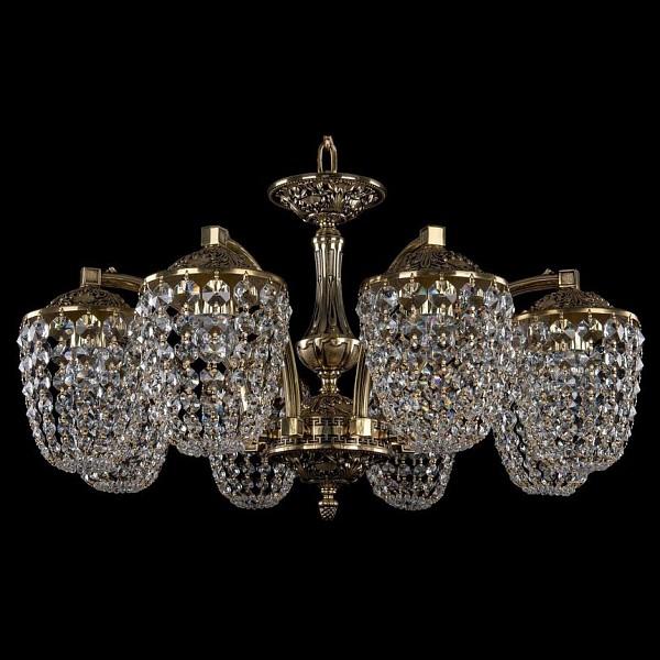 Подвесная люстра 1772/8/220/GB Bohemia Ivele Crystal  (BI_1772_8_220_GB), Чехия