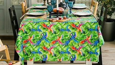 Скатерь (150x180 см) Попугай