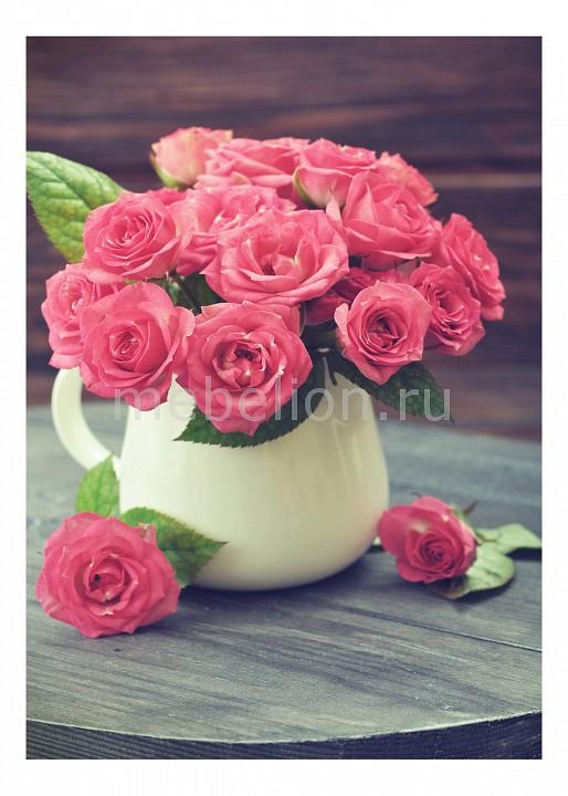 Панно Ekoramka (50х70 см) Розы в кувшине 1727094К5070 цена