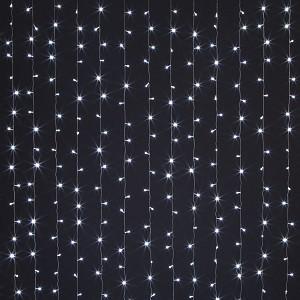 Занавес световой [2x3 м] 200-002 белый