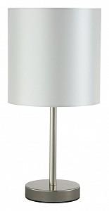 Настольная лампа декоративная SERGIO LG1 NICKEL