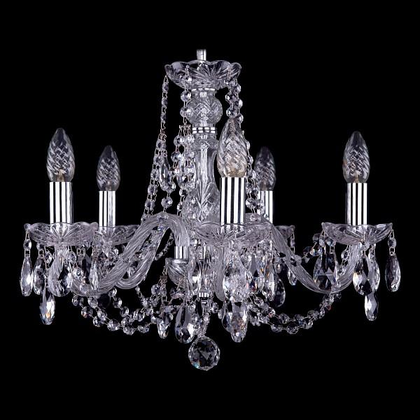 Подвесная люстра 1406/5/160/Ni Bohemia Ivele Crystal  (BI_1406_5_160_Ni), Чехия