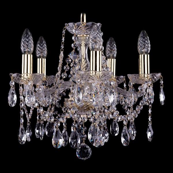 Подвесная люстра 1413/5/141/G Bohemia Ivele Crystal  (BI_1413_5_141_G), Чехия