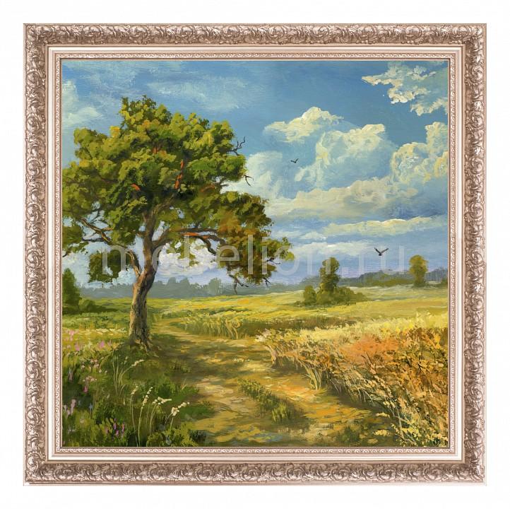 цена Панно Ekoramka (50х50 см) Дерево в поле 1722096