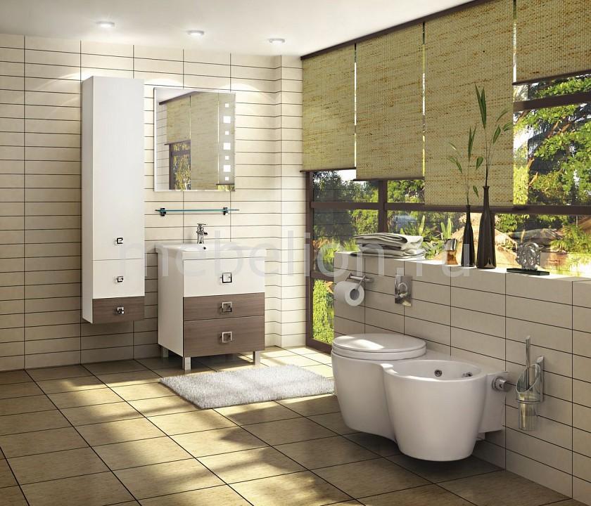Гарнитур для ванной Акватон Стамбул 65 М лиственница