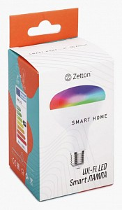 Лампа светодиодная E27 100-240В 8Вт 6500K ZTSHLBRGBCWE274RU
