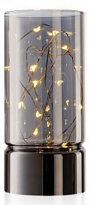 Свеча светодиодная (7x15 см) Kristall RmH-LC-01-Silver