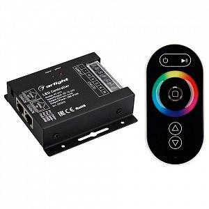 Контроллер-регулятор цвета RGBW с пультом ДУ VT-S17-4x6A (12-24V, ПДУ Овал, RF)